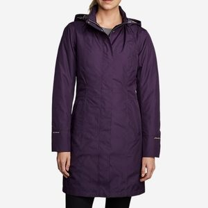 Eddie Bauer Girl On The Go Insulated Trench